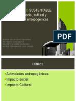 Actividades Antropogénicas