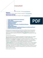 Sindrome de Derrame Pleural