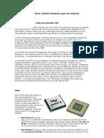 Microprocesadores actuales