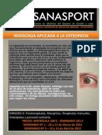 Curso Iridologia Osteopatia Sanasport