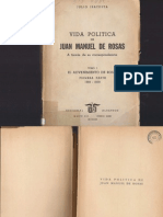Irazusta, Julio. Vida politica de Juan Manuel de Rosas a traves de su correspondencia. (1793-1830). 1953 - Prefacio, Capitulo I y II