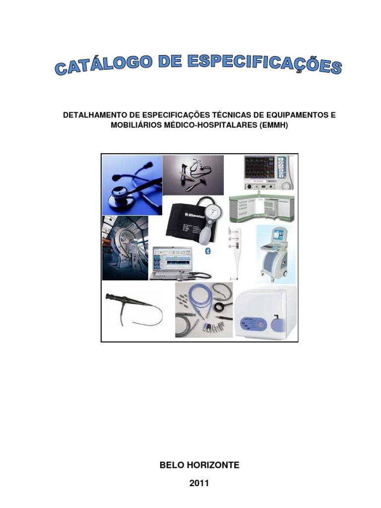 0c8e3a0522b56 Catalogo de Equipamentos Geci -Atualiz 2011 - Secret Aria de Estado Da  Saude Mg