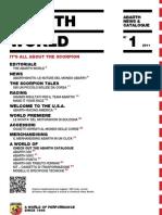 Abarth World - News and Catalogue n° 1/2011