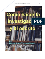 Como Hacer Una Investigacion