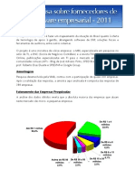 Pesquisa Fornecedores Software