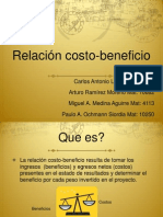Analisis de Costo Beneficio