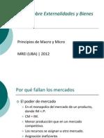 Externalidades y Bienes públicos2012
