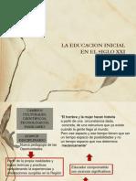 16 de Abril La Educacion Inicial en El Siglo Xxi