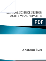 Clinical Science Session- Hepatitis
