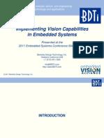 BDTI ESC Embedded Vision[1]