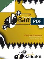 Cineclube Bamako - proposta comercial