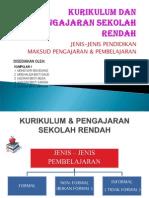 KURIKULUM & PENGAJARAN SR