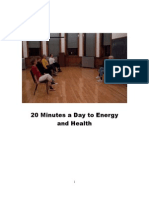 20-Minutes a Day to Energy and Health