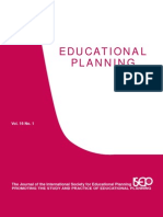 Educational Planning I