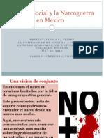 El Tejido Social Y laNarcoGuerra en Mexico
