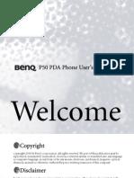 Benq p50 Manual