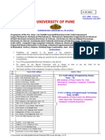Course Syllabus ME Comp Pune University