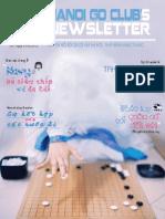 Bản tin clb Cờ Vây Hà Nội số 7 - tháng 5/2012