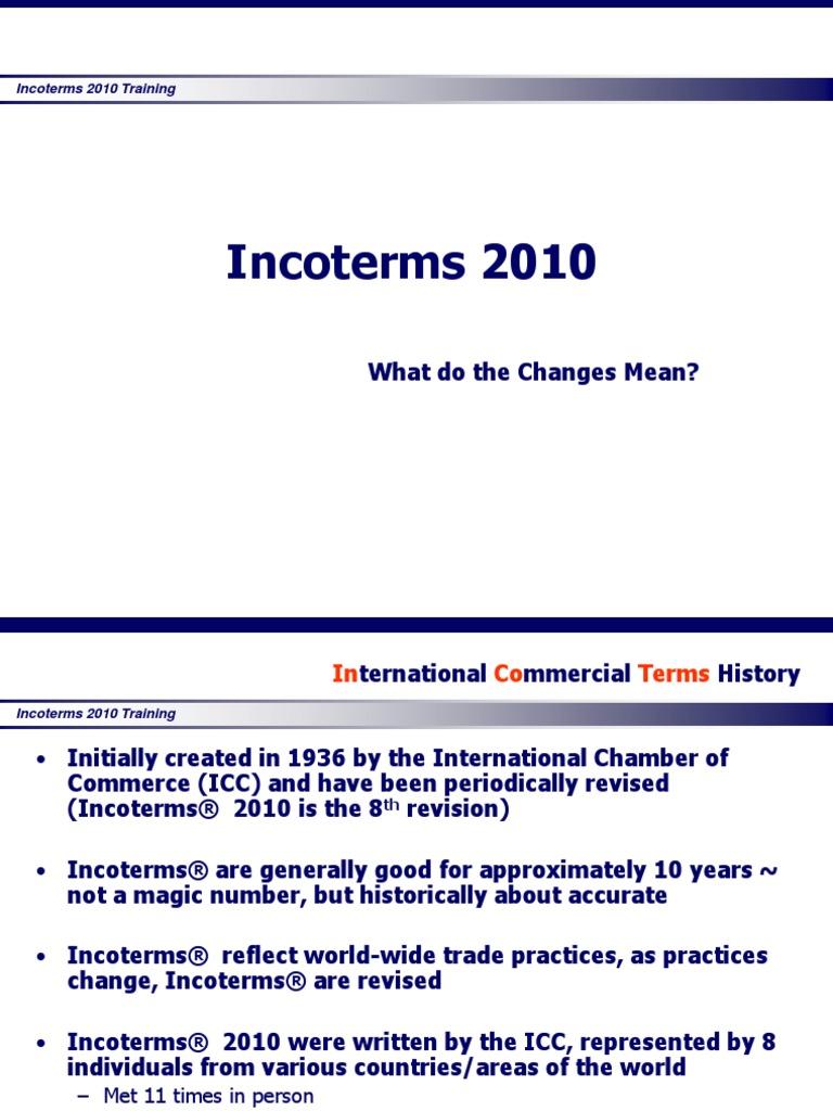 Icc Incoterms 2012 Pdf
