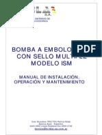 Manual Bomba ISM