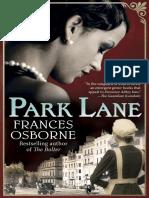 Park Lane by Frances Osborne (Excerpt)