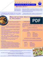CONVOCATORIA 2013-I