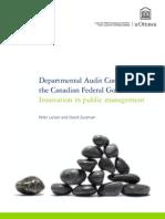 Department Audit Committeees in CFG