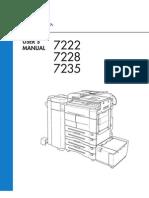 Konica 7222-28-35_Operator's Manual