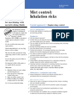 Inhalation Risk
