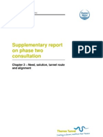 Supp Report on P2 Consultation - Chapter 2 Need Solution Route Alignment