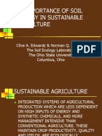 The Importance of Soil Ecology in Sustainable Agriculture
