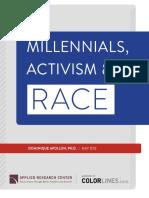 Millennials, Activism and Race Report May 2012