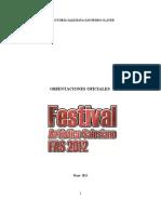 Orientaciones Oficiales FAS 2012 - 260512