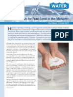 The Gold Rush for Frac Sand in the Midwest