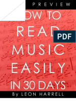 How to Read Music in 30 Days - Free Preview