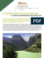 Historia del Chorro Complejo Turistico Rural La Garganta El Chorro Alora Malaga