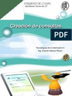 Creación de Consultas