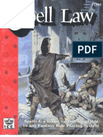 Role Master - Spell Law