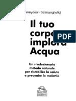 60068637 Il Tuo Corpo Implora Acqua Metodo Naturale Per Ristabilire La Salute