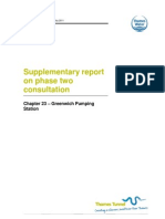 Supp Report on P2 Consultation - Chapter 23 Greenwich Pumping Station