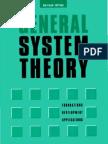 93285373 Bertalanffy Ludwig Von 1968 General System Theory Foundations Development Applications