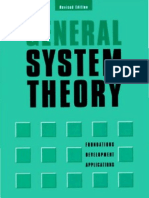 93285373 Bertalanffy Ludwig Von 1968 General System Theory Foundations Development Applications
