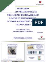 Climate Review Trans Activities Es