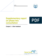 Supp Report on P2 Consultation - Chapter 3 Other Feedback