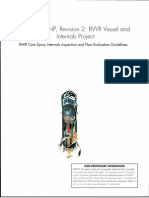 XR276427-02 - BWRVIP-1 8NP BWR Vessel AndInternals ProjectBWR Core Spray Internals Inspection and Flaw Evaluation Guidelines