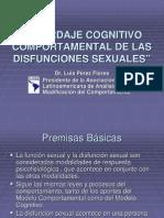 Abordaje Cognitivo Conducutal en Disfunciones Sexuales Luis Flores
