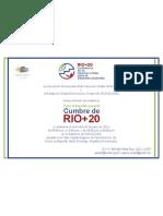 Invitacion Cumbre de Rio