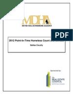 Dallas homelessness report