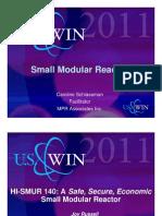 Small Modular Reactors Caroline SchlasemanFacilitatorMPR Associates Inc