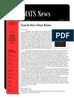 UNO ATEP Spring Newsletter 2012